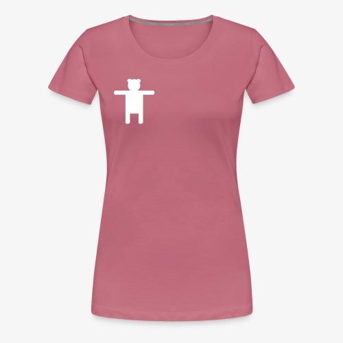 Women's Pink Premium T-shirt Ippis Entertainment - Naisten premium t-paita