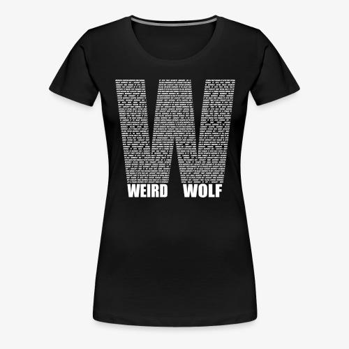 The Big W (White) - Women's Premium T-Shirt