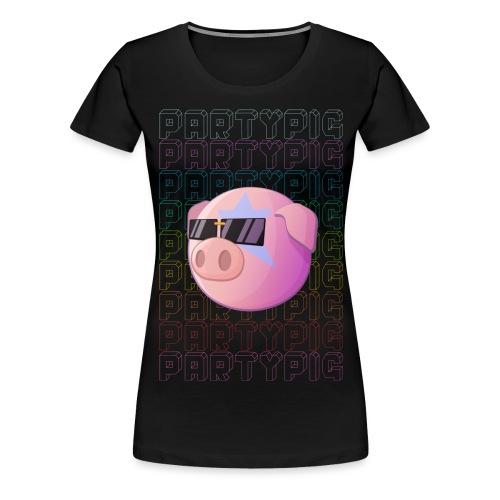 Farmstead - Partypig - Frauen Premium T-Shirt