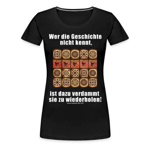 71_Geschichte_Lernen - Frauen Premium T-Shirt