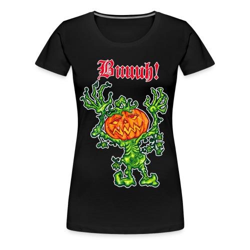 Buh! Halloween - Frauen Premium T-Shirt
