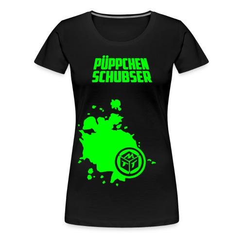 mg shirt pueppchenschubser - Frauen Premium T-Shirt