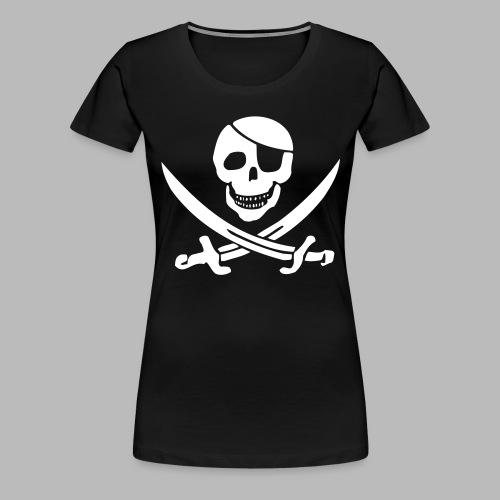 pirat pur klein - Frauen Premium T-Shirt