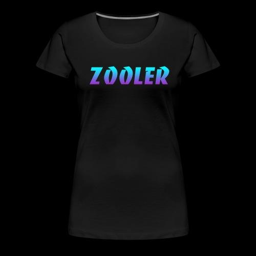 Zooler BANCO blue and purple - T-shirt Premium Femme