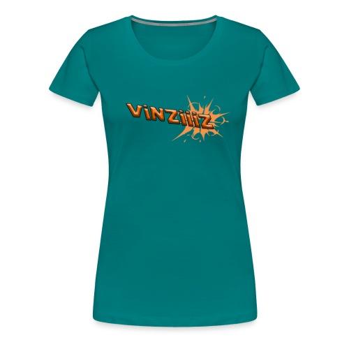Vinziiiz - Premium-T-shirt dam