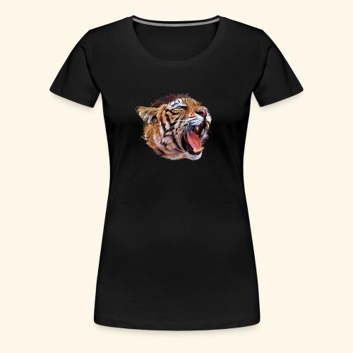 BOB LE TIGRE - T-shirt Premium Femme