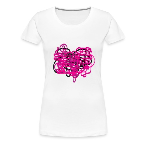 delicious pink - Women's Premium T-Shirt
