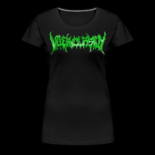 Green logo - Premium-T-shirt dam