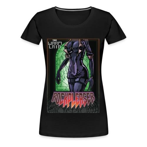 Rockpleaser Green - T-shirt Premium Femme