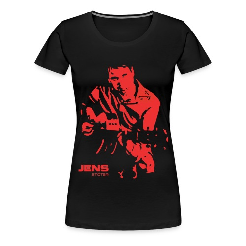 Jens_Silhouette - Frauen Premium T-Shirt