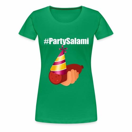 #PartySalami (ParkTube Insider) - Frauen Premium T-Shirt