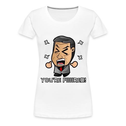 Chibi McMahon - Fired - Women's Premium T-Shirt