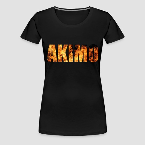 AKIMO Basic Fire - Frauen Premium T-Shirt