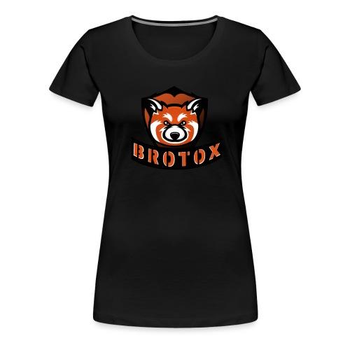 Brotox Transparent - Frauen Premium T-Shirt