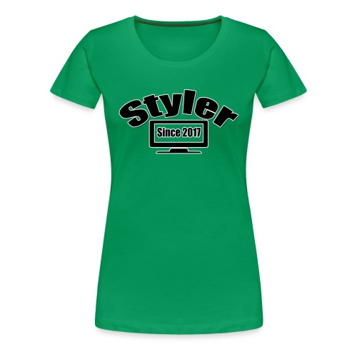 Styler Design T-Shirt Vrouwen - Vrouwen Premium T-shirt