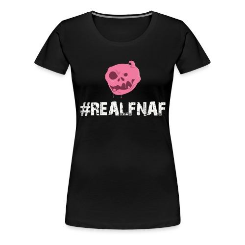 Bubblegummonsters #RealFnaf WHT - Women's Premium T-Shirt