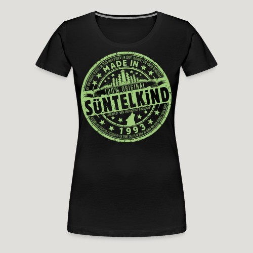 SÜNTELKIND 1993 - Das Süntel Shirt mit Süntelturm - Frauen Premium T-Shirt
