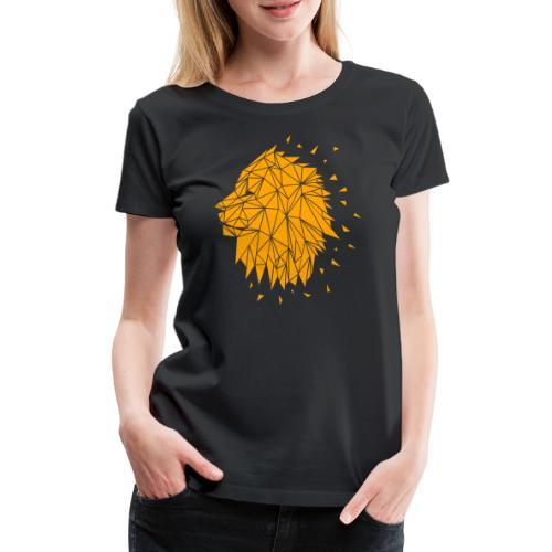 Lion - Orange - Frauen Premium T-Shirt