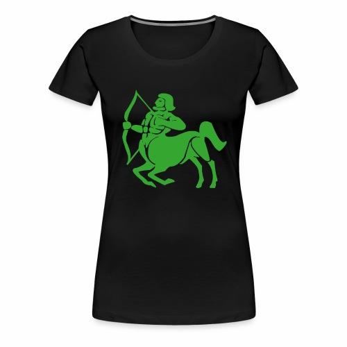 Das Sternzeichen Schütze trifft immer sein Ziel - Frauen Premium T-Shirt