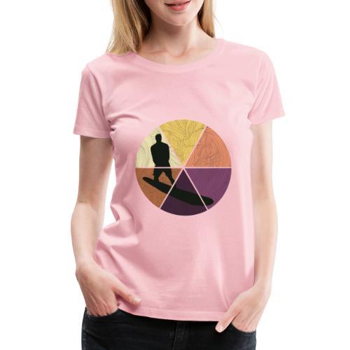 Wellenreiten - Frauen Premium T-Shirt