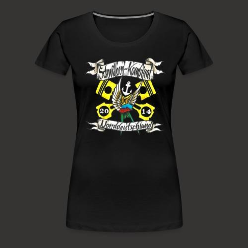 LOGO-SKN14 weiß - Frauen Premium T-Shirt