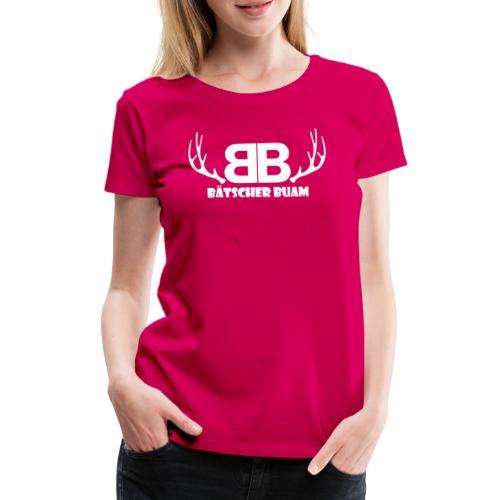 Bätscher Buam - Frauen Premium T-Shirt