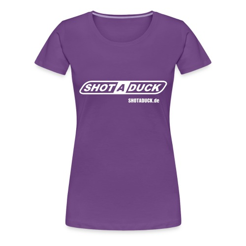 shotaduck fan shirt - Frauen Premium T-Shirt