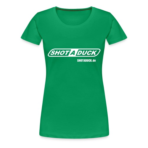 shotaduck fan shirt - Frauen Premium T-Shirt
