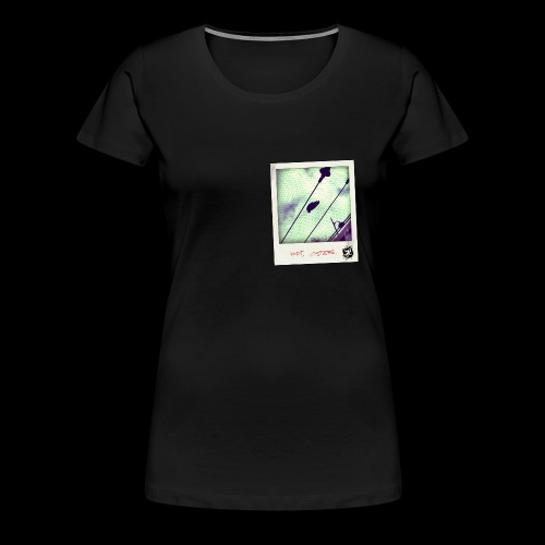 POLAROID pfft hipsters - T-shirt Premium Femme