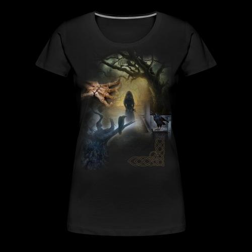 Dark Side No. 01 - Frauen Premium T-Shirt