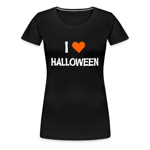 I <3 HALLOWEEN - Frauen Premium T-Shirt
