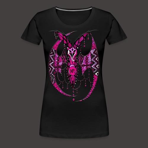 Chauve SourisDentelle Rose - T-shirt Premium Femme