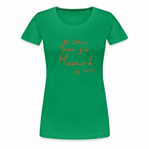 je peux pas j'ai muscu - T-shirt Premium Femme