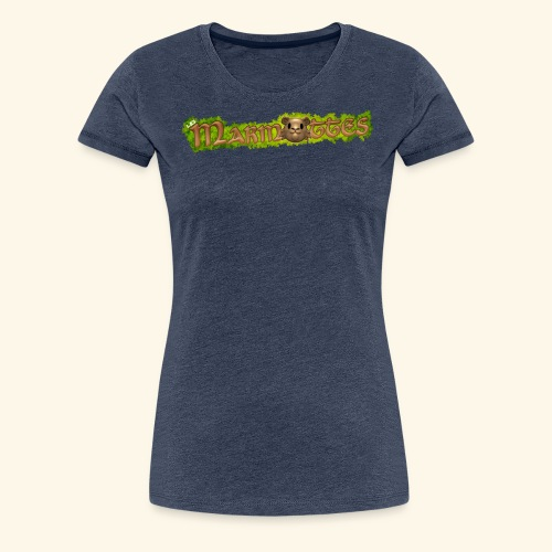 marmottes logo HD - T-shirt Premium Femme