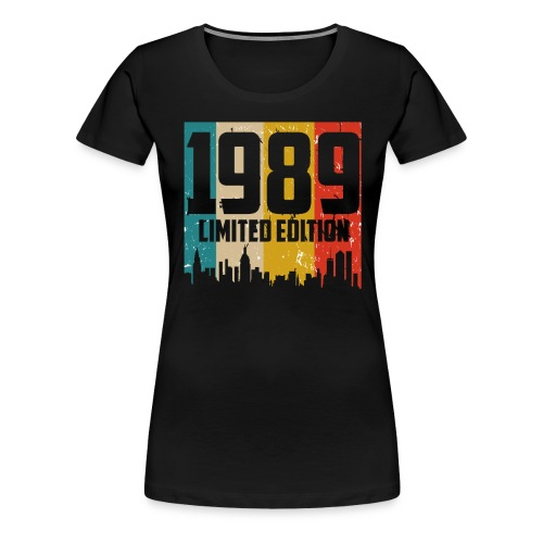 Vintage Geburtstag Limited Edition Jahrgang 1989 - Frauen Premium T-Shirt