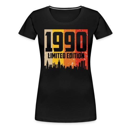 Vintage Geburtstag Limited Edition Jahrgang 1990 - Frauen Premium T-Shirt