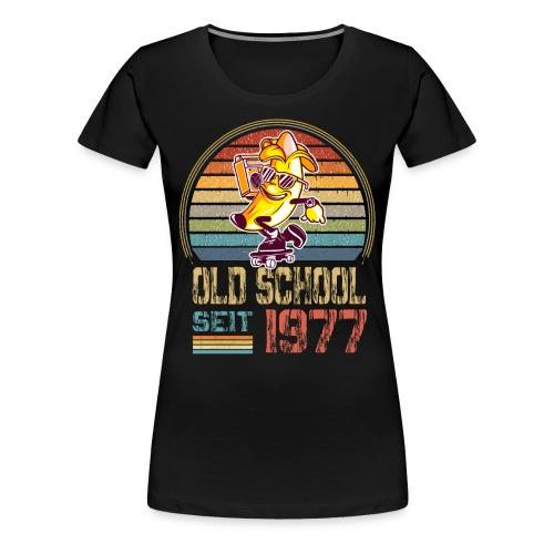 Skater Skateboard Geburtstag Jahrgang 1977 - Frauen Premium T-Shirt
