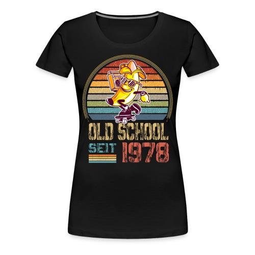 Jahrgang 1978 Skateboard Geburtstag 1978 Geschenk - Frauen Premium T-Shirt