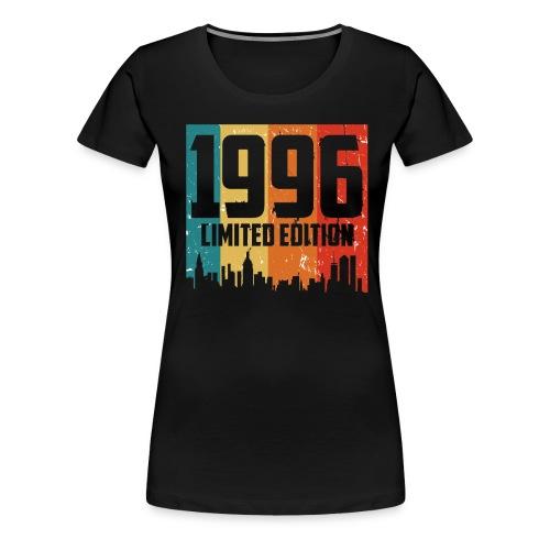 Vintage Geburtstag Limited Edition Jahrgang 1996 - Frauen Premium T-Shirt