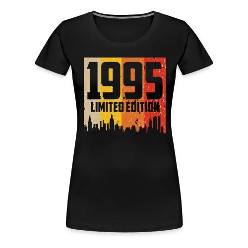 Vintage Geburtstag Limited Edition Jahrgang 1995 - Frauen Premium T-Shirt