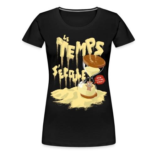 Le Temps C est Cool - Women's Premium T-Shirt