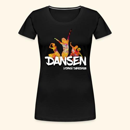 Dansen Mosaik - Premium-T-shirt dam
