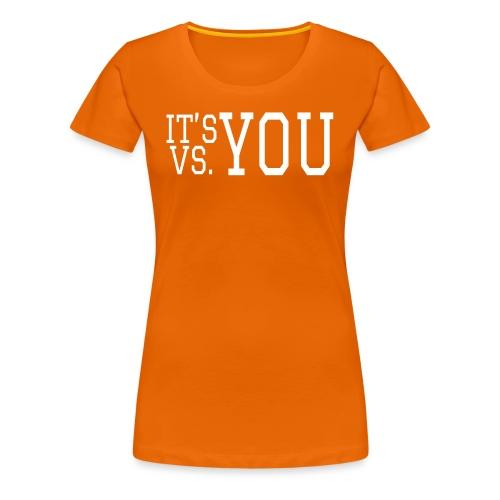You vs You - Women's Premium T-Shirt