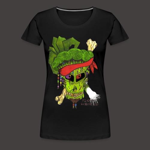 PIRATE BROCCOLI - T-shirt Premium Femme