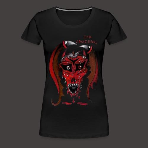 BAT STRAWBERRY - T-shirt Premium Femme