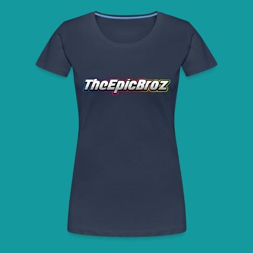 TheEpicBroz - Vrouwen Premium T-shirt
