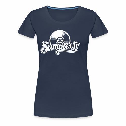 Samples.fr noir - T-shirt Premium Femme