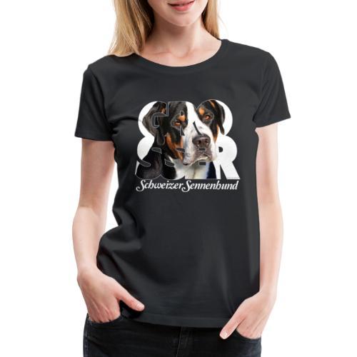 Grosser Schweizer Sennenhund - Naisten premium t-paita