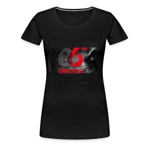 06:30 Logo weiss - Frauen Premium T-Shirt