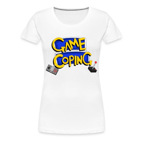 Game Coping Logo - Women's Premium T-Shirt